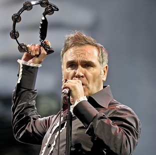 Morrissey is to perform with Sir Cliff Richard and Sir Tom Jones