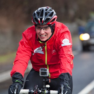 Davina McCall is nearing the end of her Sport Relief challenge (Comic Relief/PA)