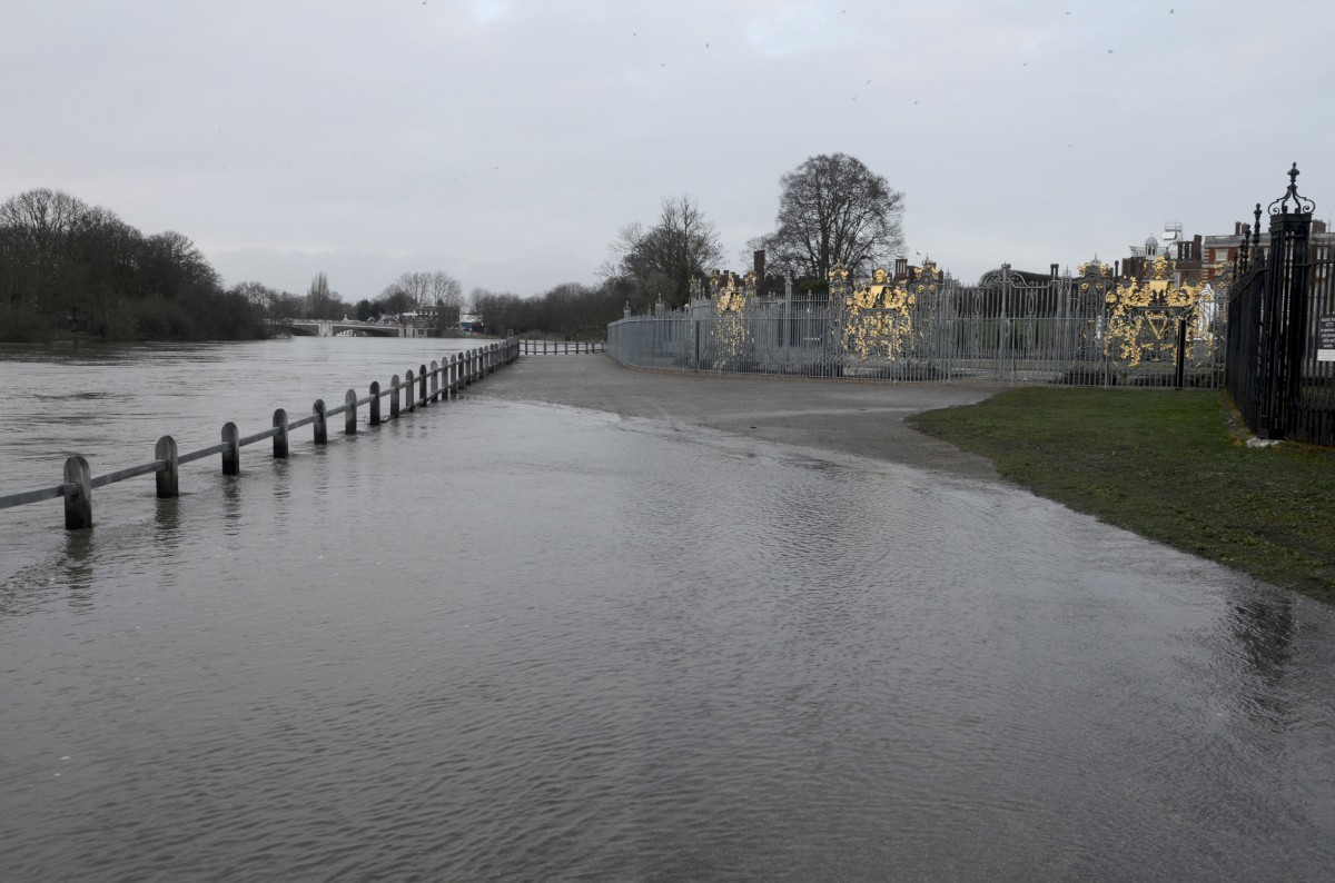 Hampton flooding: But others have been worse hit