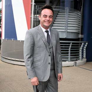 Ant McPartlin has chopped off the tip of his thumb