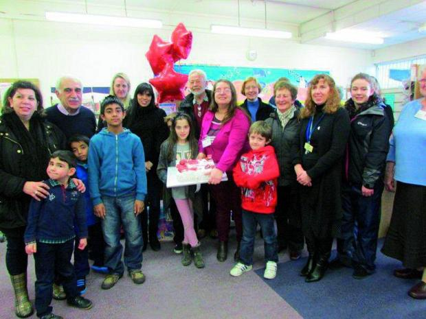 Stoneleigh Library celebrated its first birthday after being taken over by volunteers