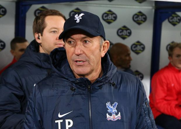 High demands: Crystal Palace boss Tony Pulis knows what he wants from the visit of Manchester United