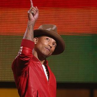 Pharrell Williams' son Rocket is already showing musical promise
