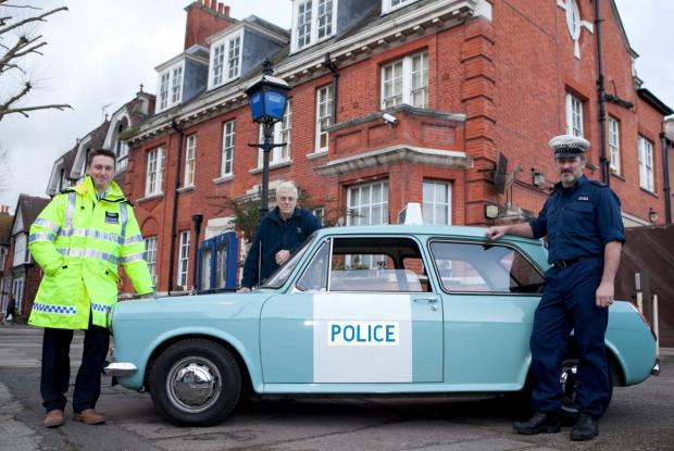 This Is Local London: Old fleet: Hampton police station closes in March