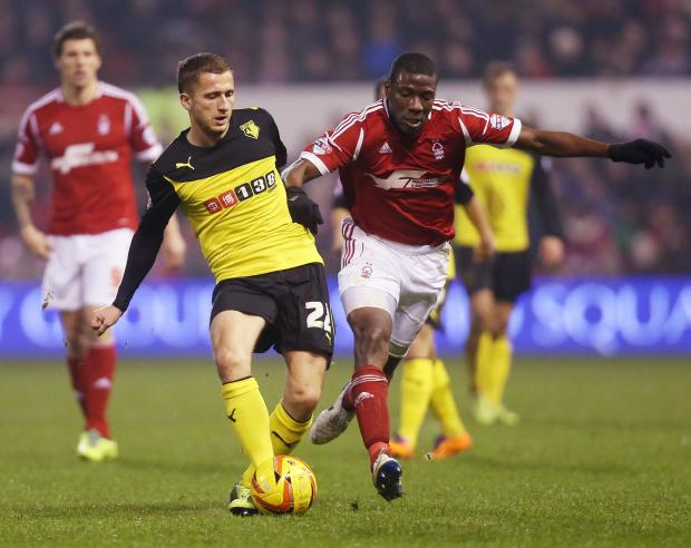Abdi has not featured for Watford since the end of January. Picture: Action Images