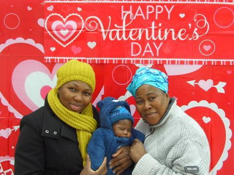 This Is Local London: Image 4: Keni, Gerrard and Bisi Azeez Mother, son and grandmother