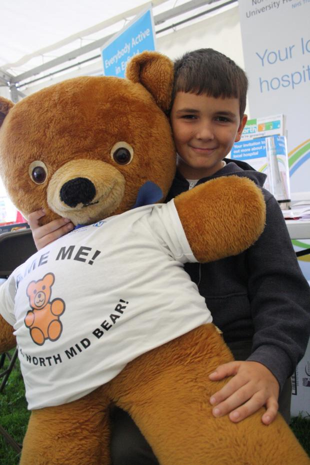 This Is Local London: Mascot midsy the bear