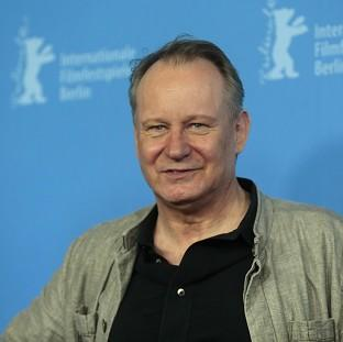 Actor Stellan Skarsgard was overwhelmed by the size of the Nymphomaniac script