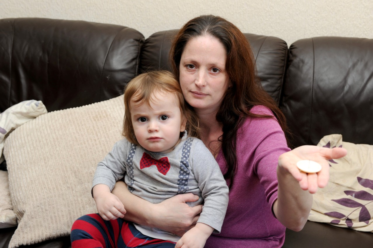 PICTURED: Bexley toddler 'stabbed in leg' by shop security pin left in trousers