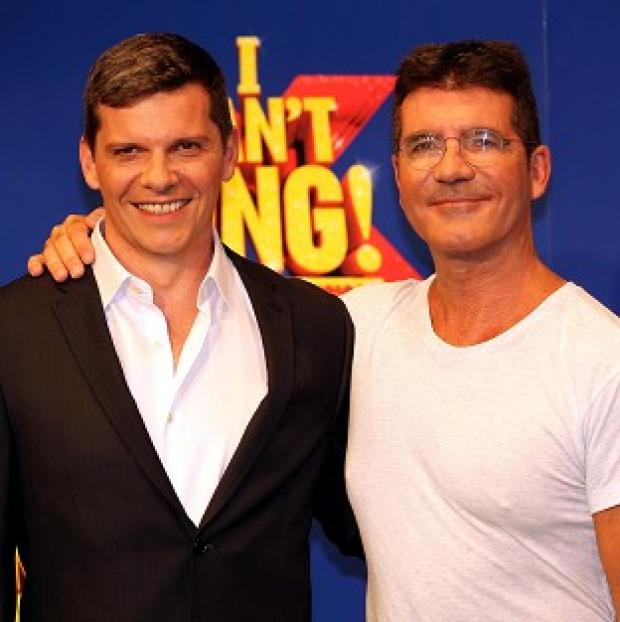 This Is Local London: Nigel Harman spoofs Simon Cowell in the X Factor musical I Can't Sing!