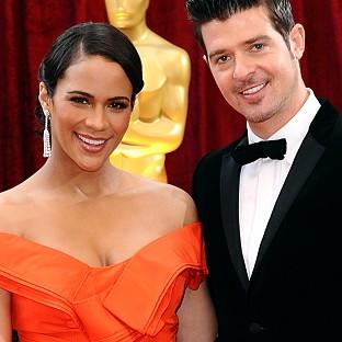 Paula Patton and Robin Thicke met when they were teenagers