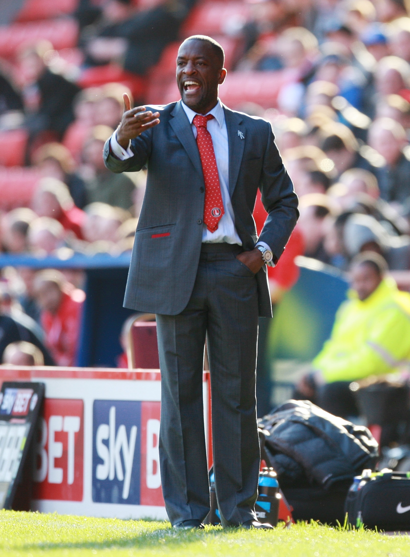 Former Watford defender Chris Powell is the manager at Charlton Athletic. Picture: Action Images.