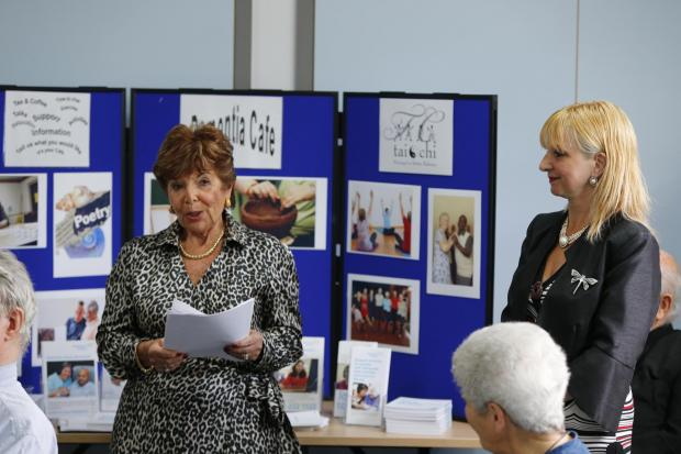 This Is Local London: The opening of the dementia cafe at the Finchley Memorial Hospital
