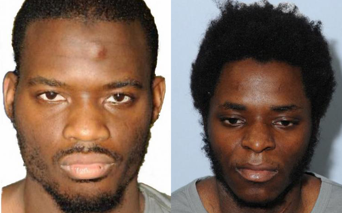 Murderers Michael Adebolajo and Michael Adebowale who killed soldier Lee Rigby in Woolwich