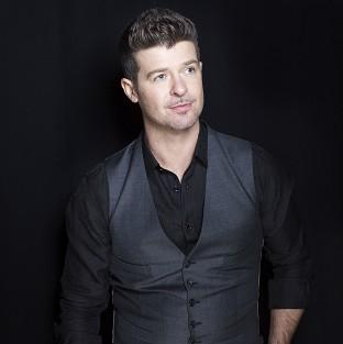 Robin Thicke thanked fans for their 'well wishes'