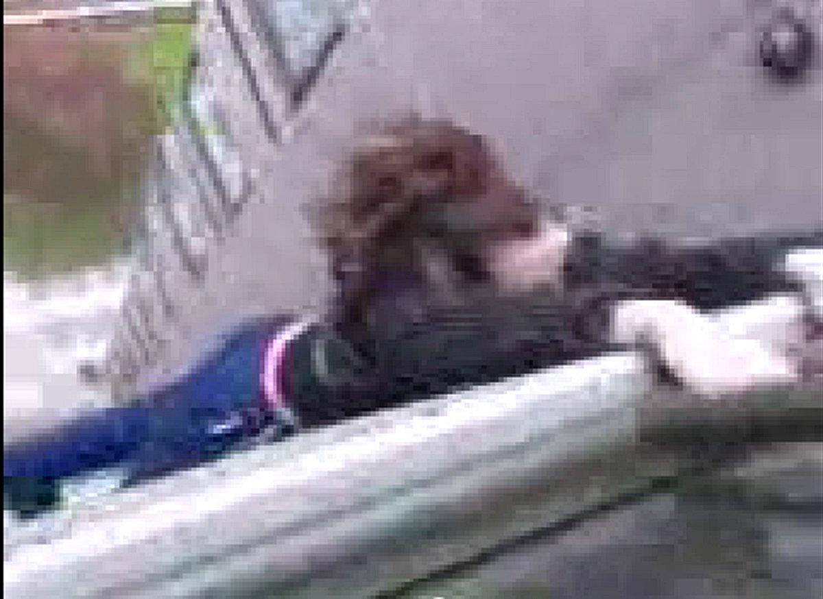 VIDEO: Girl hangs off 10-storey Thamesmead tower block balcony in terrifying YouTube stunt