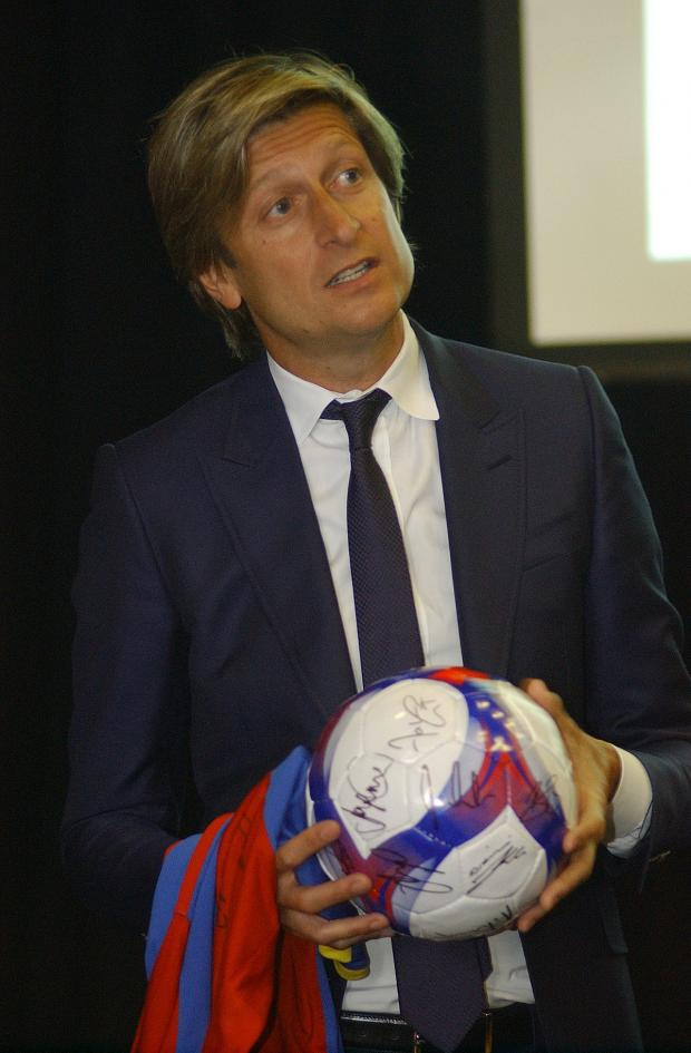 This Is Local London: Steve Parish has already met Tony Pulis once to plan ahead for next year
