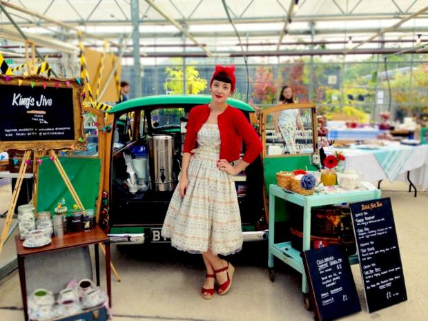 Kings Jive Coffee Stop will be at Kingsmeadow's vintage fair tomorrow