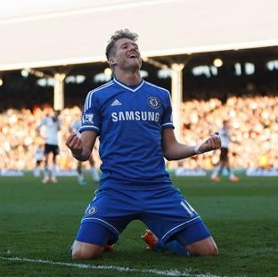 This Is Local London: Andre Schurrle netted a hat-trick in Chelsea's 3-1 victory