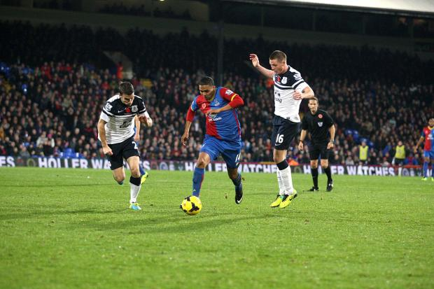 This Is Local London: Financial penalty: Jerome Thomas is one of two Palace men set to be fined by the club for diving