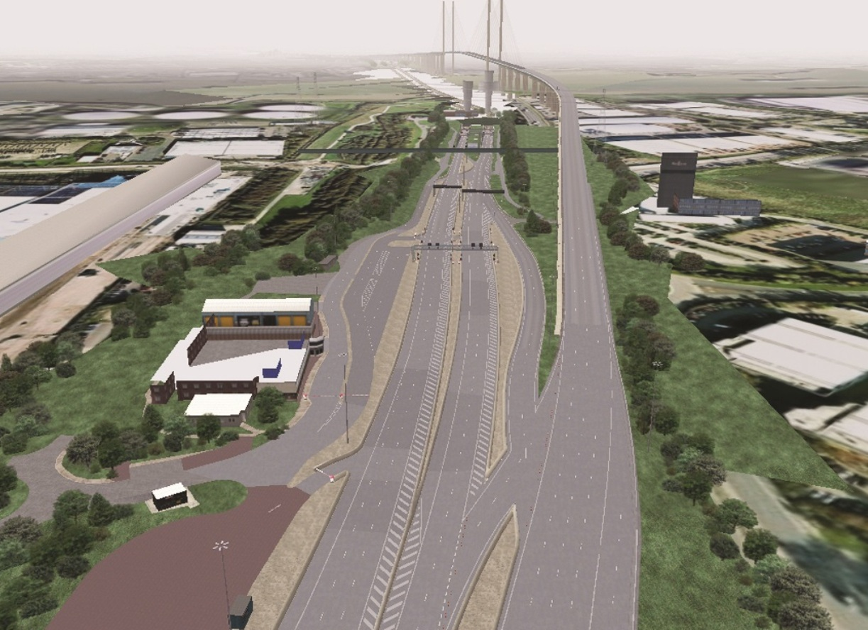 UPDATED: 150 toll booth staff could be made redundant when free-flow system comes in at Dartford Crossing