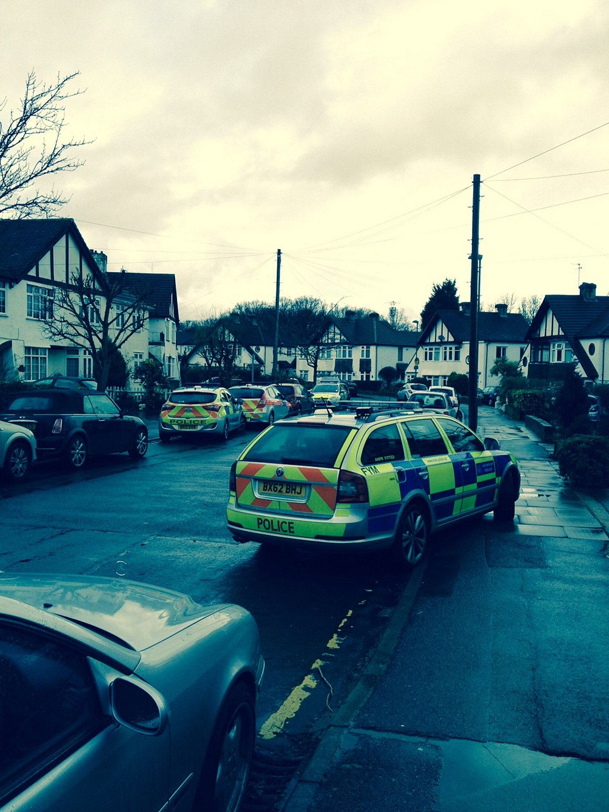 UPDATE: Police cars storm into road in Petts Wood