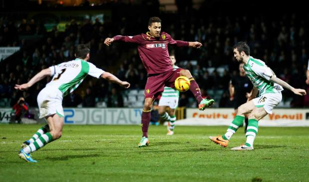 This Is Local London: Watford drew at struggling Yeovil Town last month. Picture: Action Images