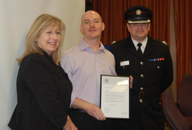 This Is Local London: Commendation for council officer's fire safety work