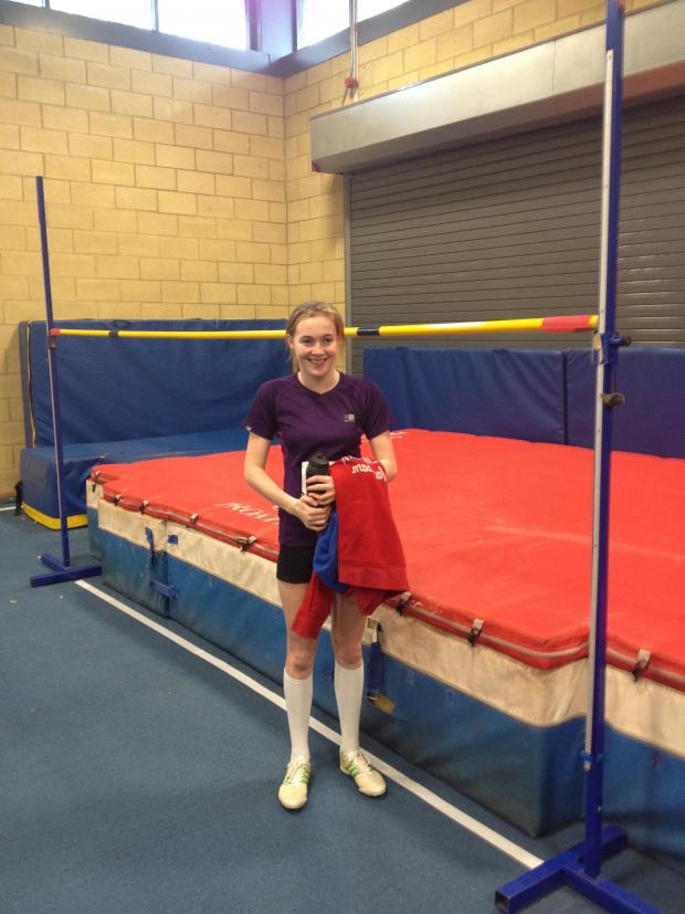 This Is Local London: ATHLETICS: Penfold wins Lee Valley Pentathlon