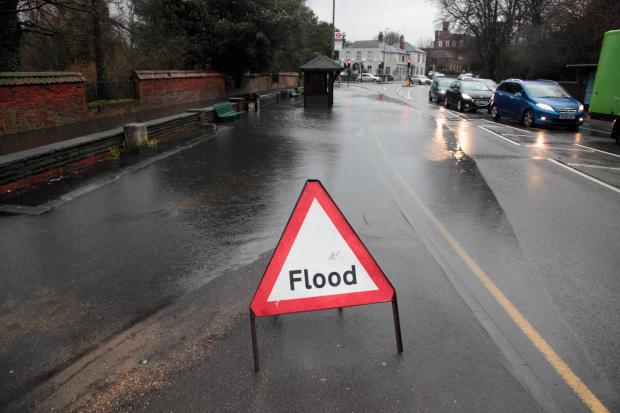 Ewell floodwater unlikely to recede before end of month