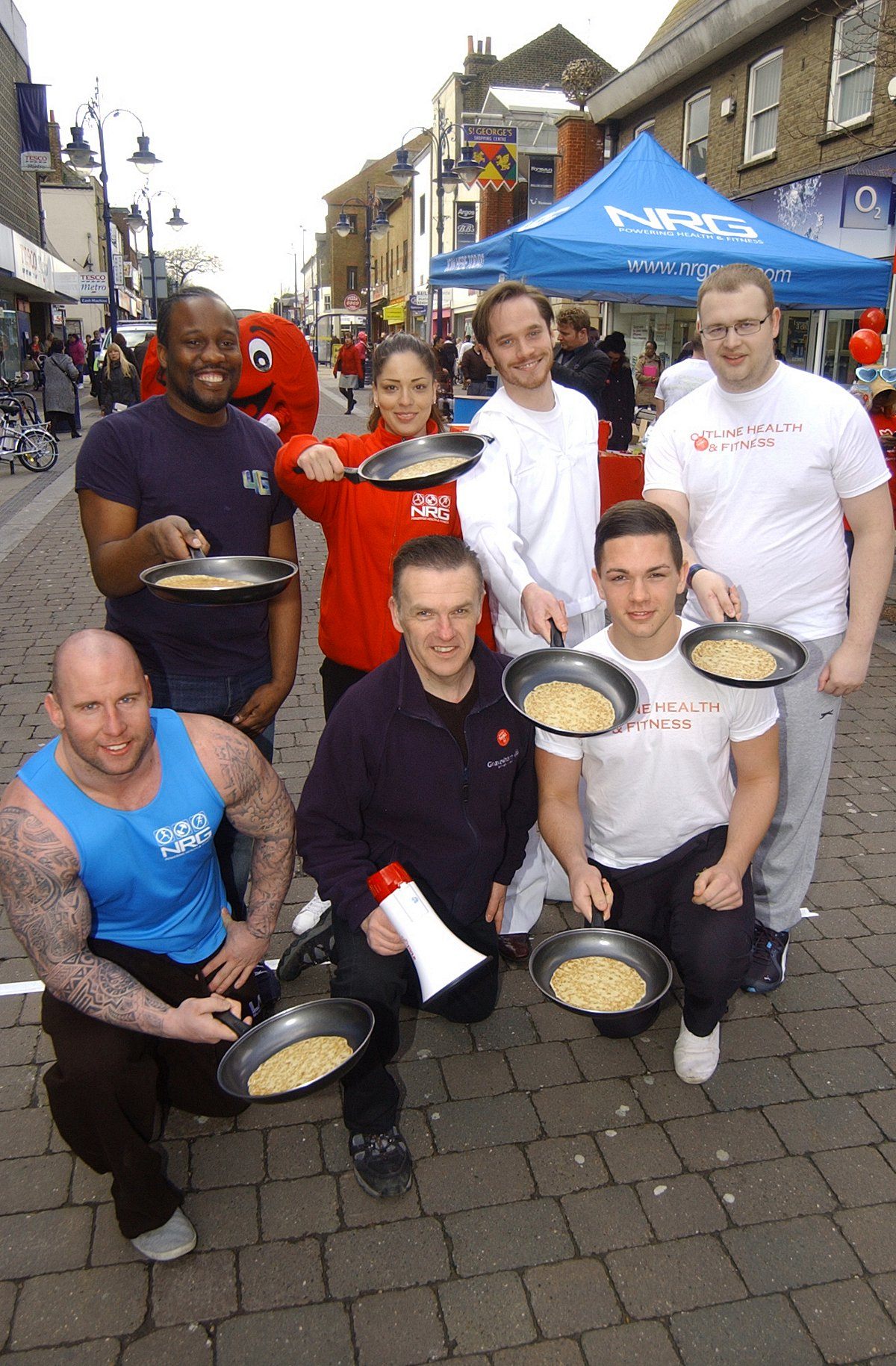 PICTURED: Pancake day races at Gravesend
