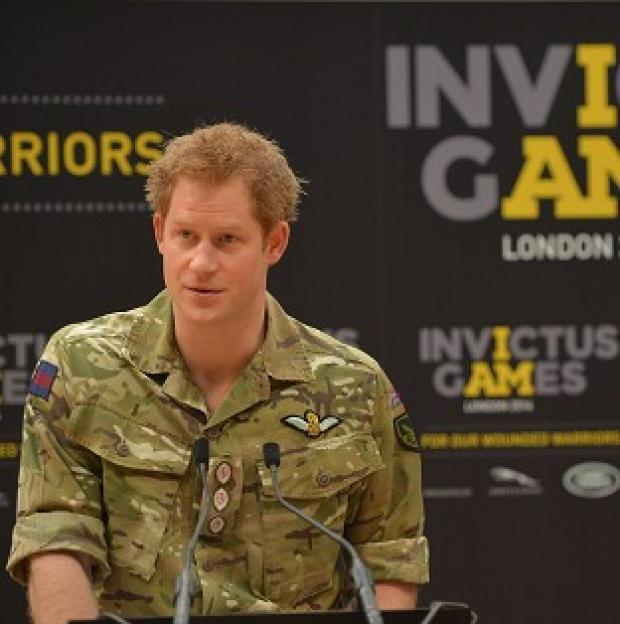 This Is Local London: Prince Harry unveiling the Invictus Games, a Paralympic-style sporting championship for injured servicemen and women.