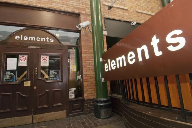 Elements nightclub in Epsom