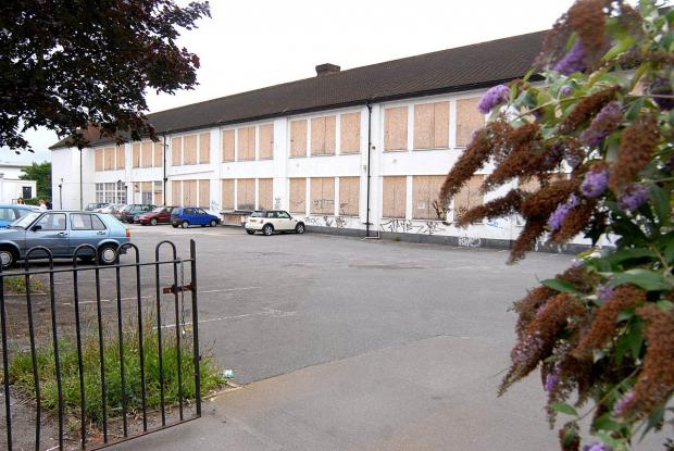 The site of the former Lintons Centre, in Lintons Lane, Epsom