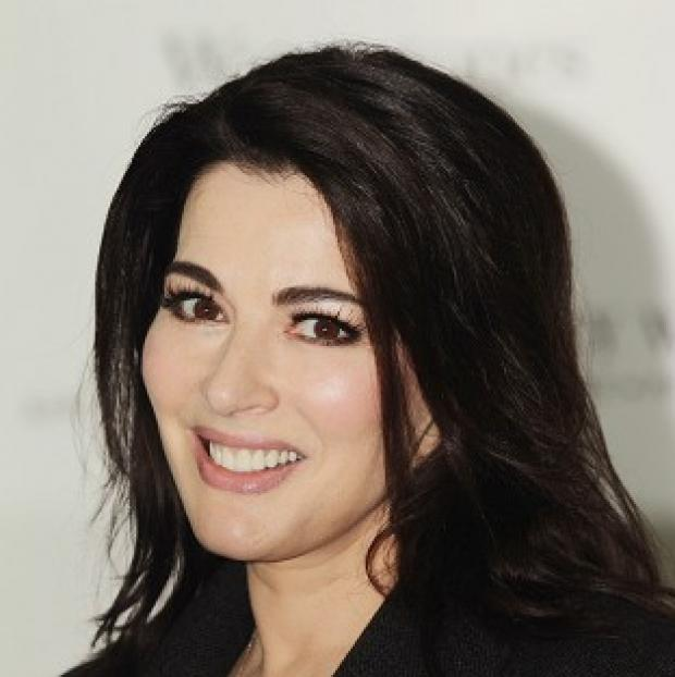 This Is Local London: Nigella Lawson was one of the judges on The Taste