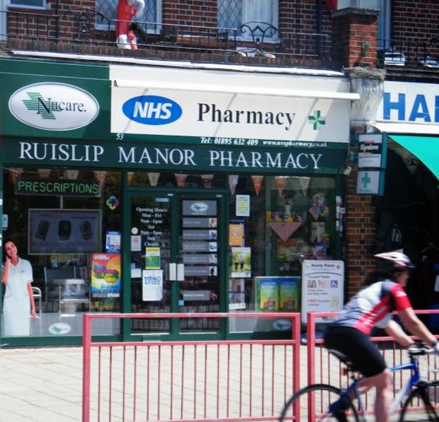 Speak to the Ruislip Manor pharmacist if you'd like to use the service