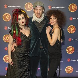 Helena Bonham Carter, Damian Lewis and Helen McCrory supported Save The Children's reggae night
