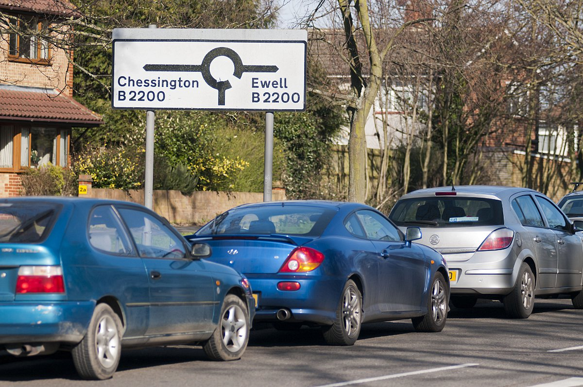 'Danger cars parked on Longmead Road could cause accident'