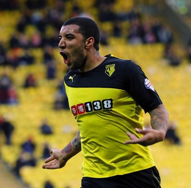 Troy Deeney will be joining his Watford team-mates in Udine next week. Picture: Dave Peters.