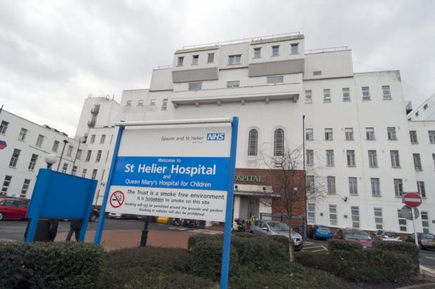 This Is Local London: St Helier Hospital