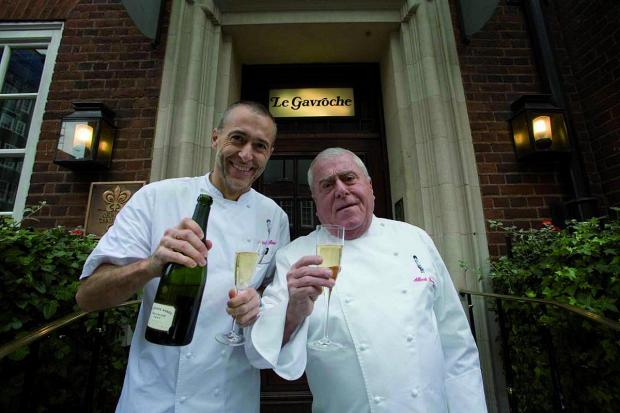 Michel Roux Jr and his father Albert Roux own and run the acclaimed Le Gavroche restaurant in London's Mayfair