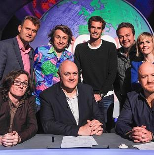 Andy Murray was a special guest on Mock The Week