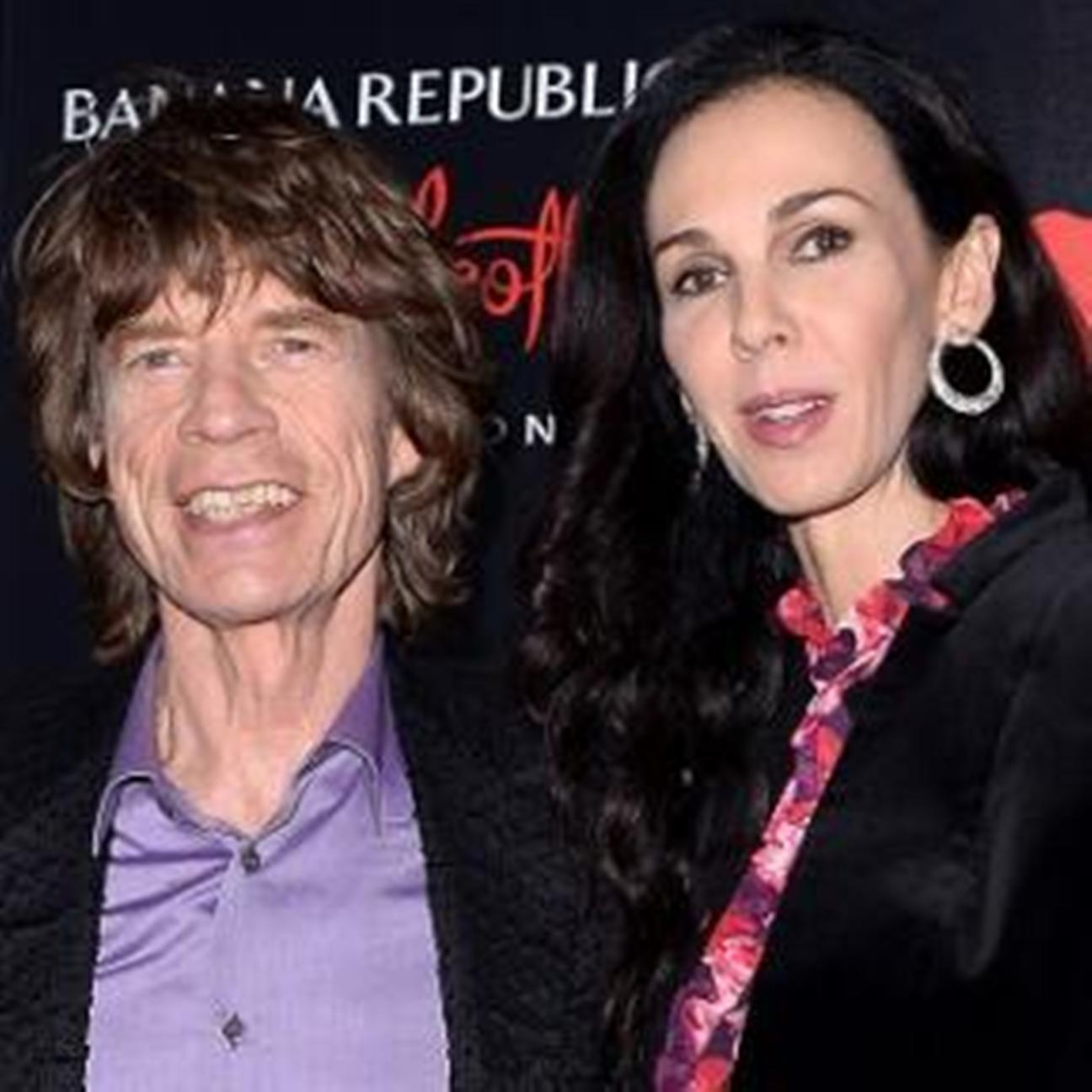 Sir Mick Jagger with girlfriend L'Wren Scott, who has been found dead at her plush New York apartment.