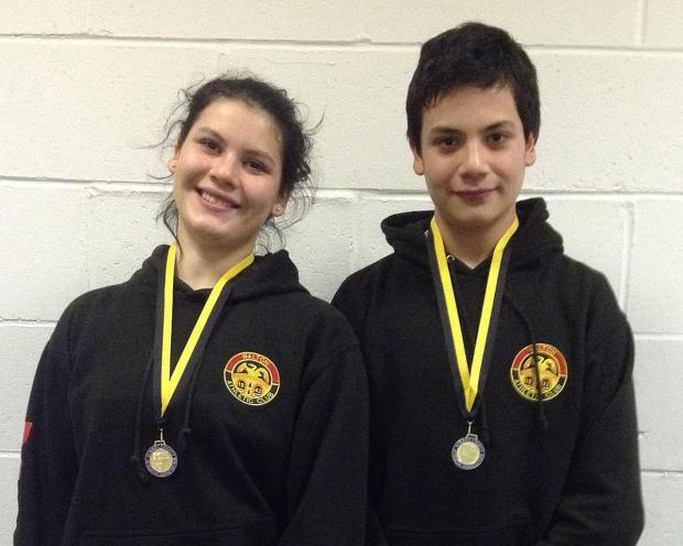 Record breakers: Walton Athletics Club's Sophie and Sam Mace