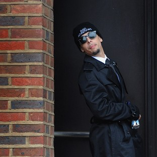 Dappy in court on assault charge
