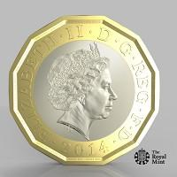This Is Local London: The new one pound coin announced by the Government will be the most secure coin in circulation in the world (HM Treasury/PA)
