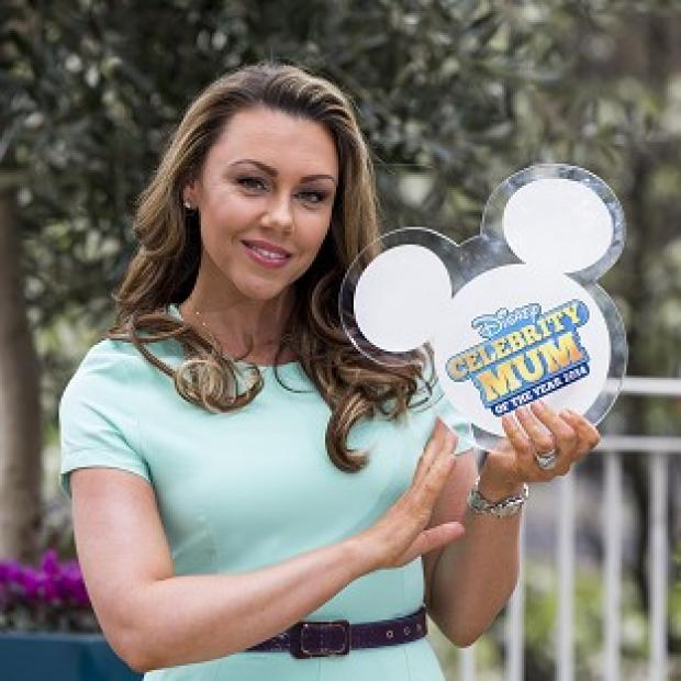 This Is Local London: Michelle Heaton was named the Disney Celebrity Mum of the Year 2014