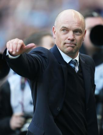 Wigan boss Uwe Rösler. Picture: Action Images