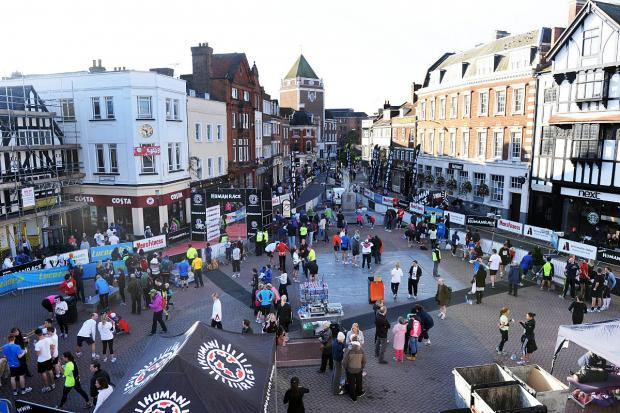 The promised land: The Breakfast Run finish line in Kingston's Market Square