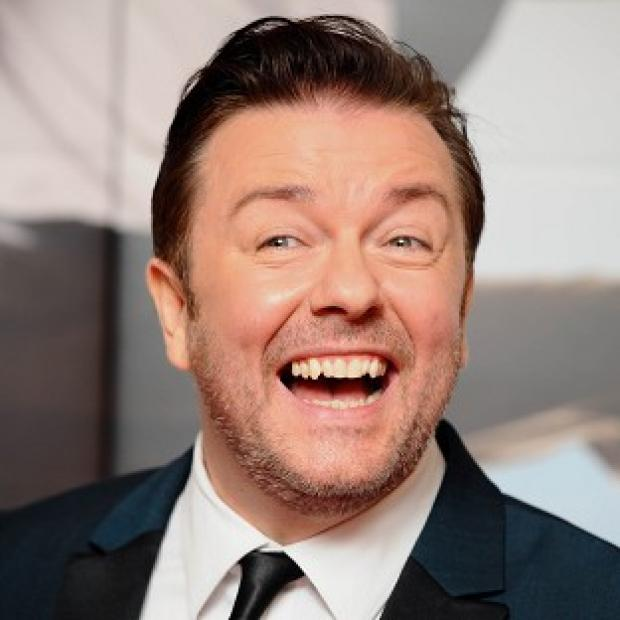 This Is Local London: Ricky Gervais says he loved singing in Muppets Most Wanted